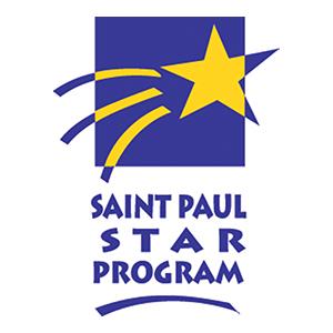 St Paul Star Program Logo